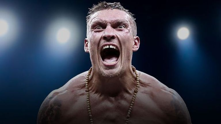 Usyk makes his heavyweight debut on Sky Sports