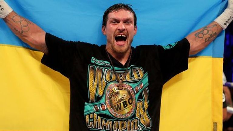 Usyk will be back at The O2 on December 22