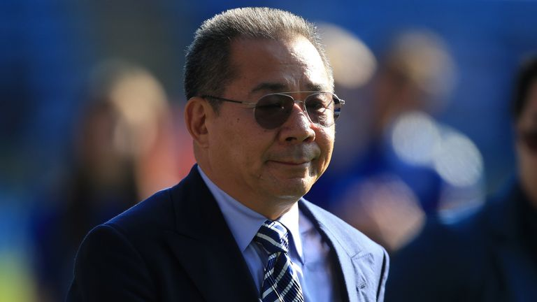 Vichai  Srivaddhanaprabha was among five people killed in a helicopter crash