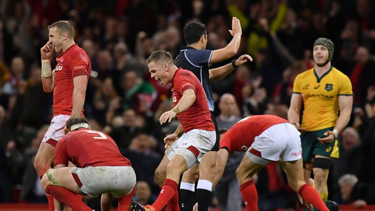 Wales ended their losing run against Australia with a tight home victory over the Wallabies