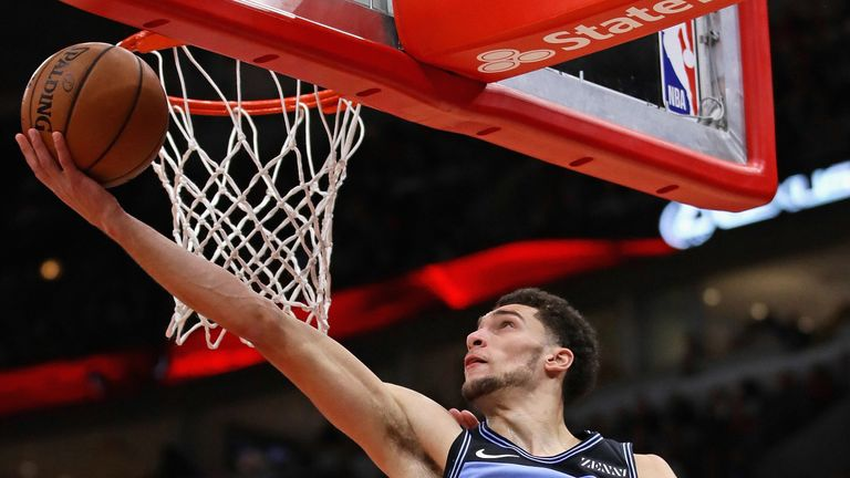 Zach Lavine is carrying the load for Chicago