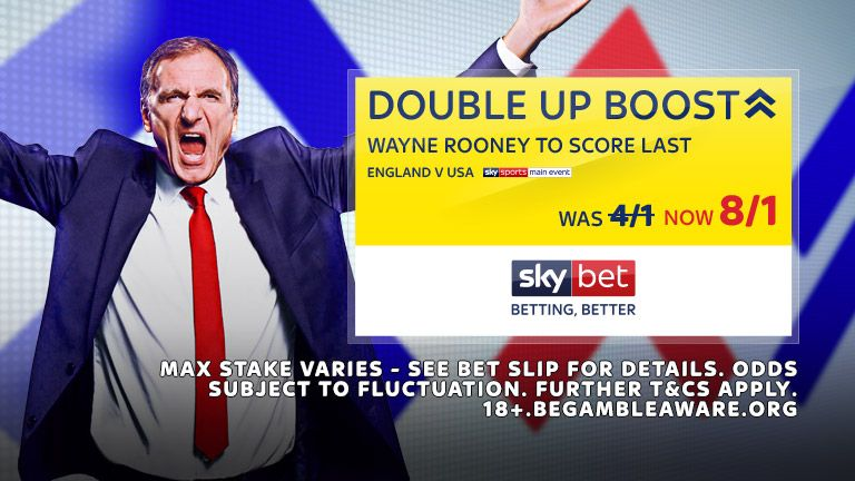 England v USA Double Up Boost