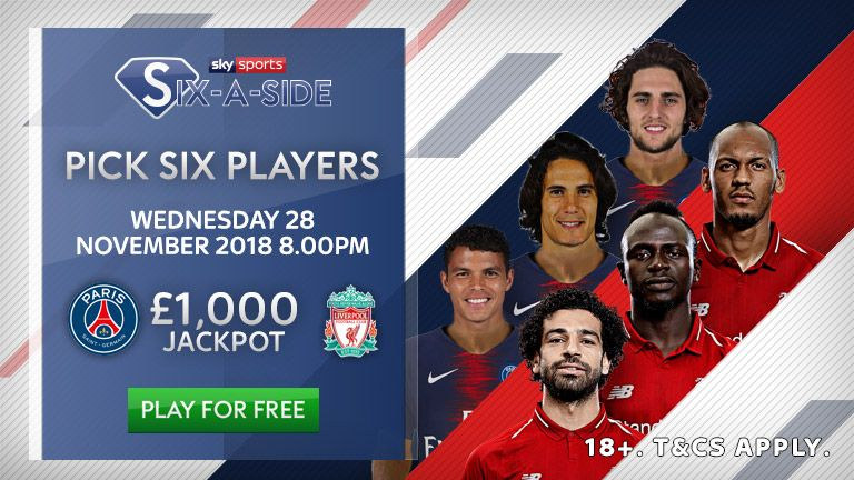 PSG vs Liverpool: Sky Sports Six-a-Side Elite Player Report | Football News |
