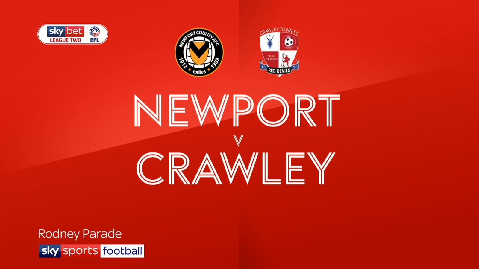 b98a1f04633 Newport 0 - 0 Crawley - Match Report & Highlights