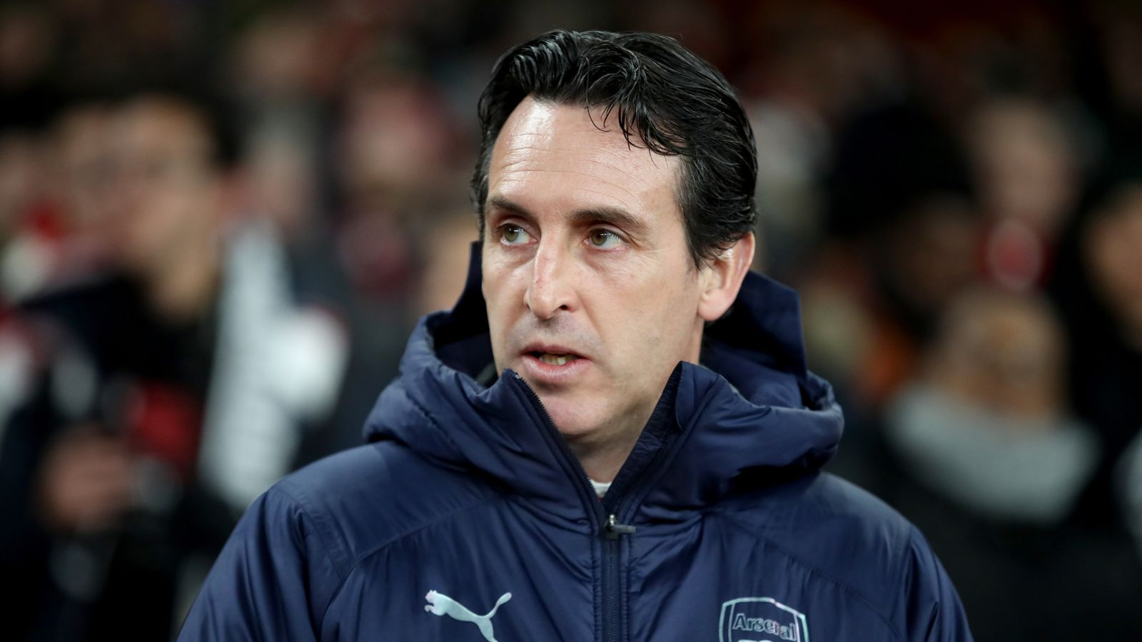 fcf5fc8443 Unai Emery faces FA investigation for kicking bottle at Brighton fans |  Football News | Sky Sports