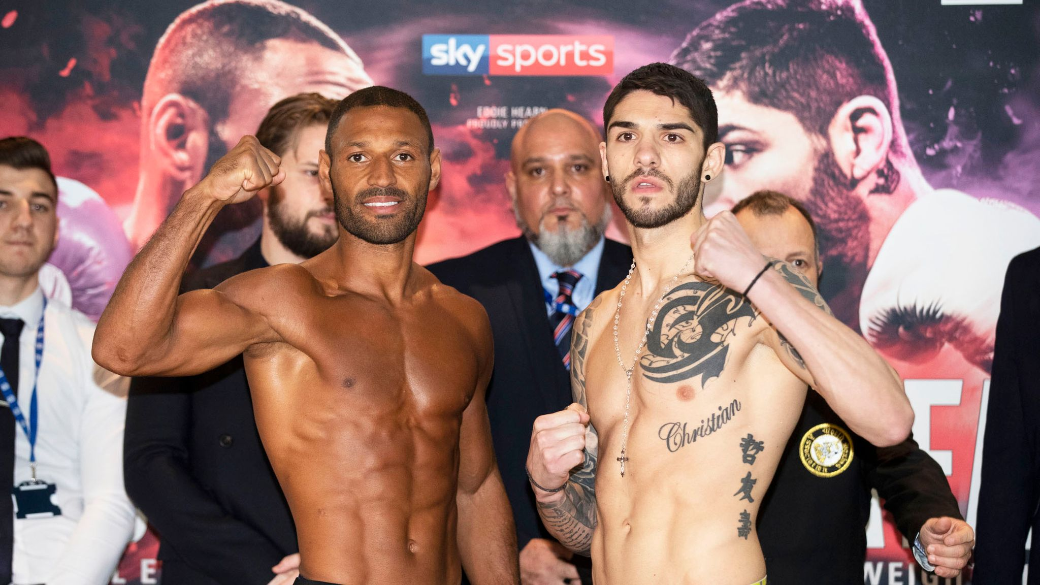 brook vs zerafa kell brook makes super welterweight limit  yung brook die real manager.php #12