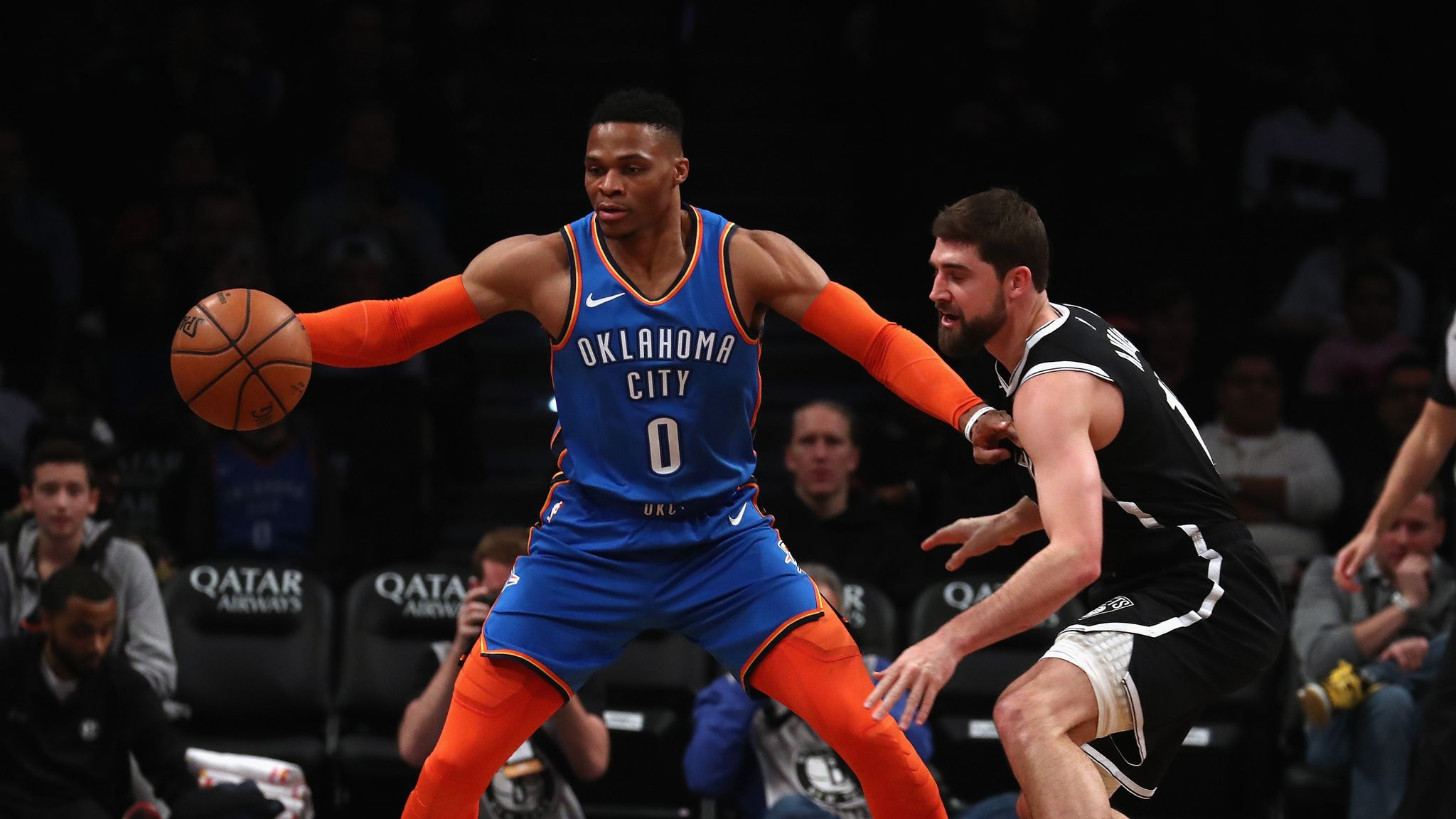 Westbrook moves up triple-double list | NBA News | Sky Sports