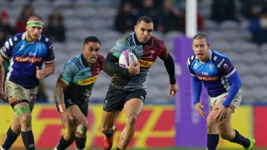 Joe Marchant scored Harlequins' second try in their win over Benetton