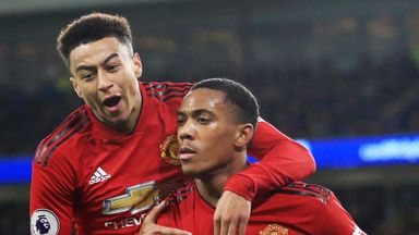 Lingard, Martial could face Liverpool