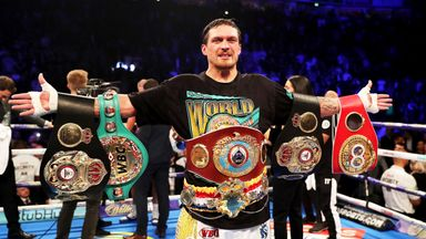 Oleksandr Usyk could receive immediate shot at Anthony Joshua's WBO belt