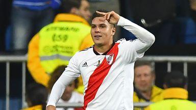 fifa live scores -                               River Plate win Copa Libertadores