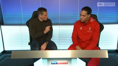 Virgil van Dijk spoke with Jamie Carragher for a Match Zone special ahead of Super Sunday