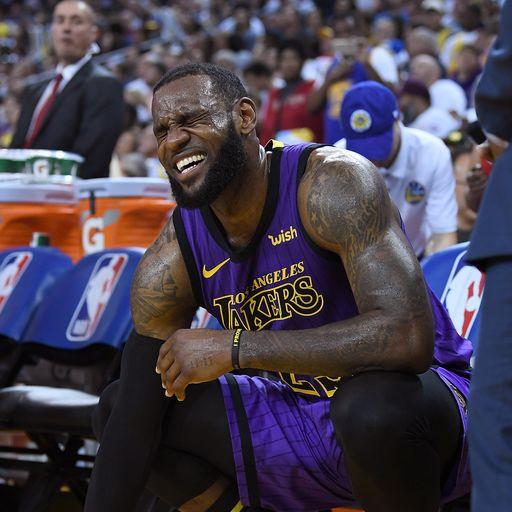 LeBron injury latest
