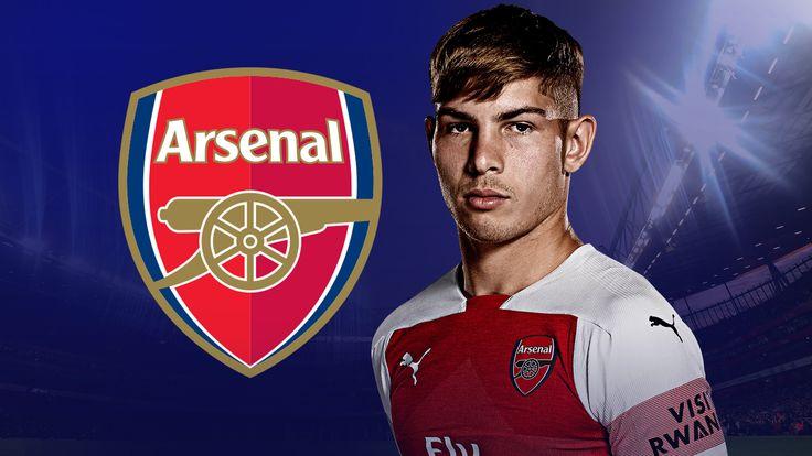 Emile Smith Rowe Arsenal S Rising Star Taking His Chances Under Unai Emery Football News Sky Sports