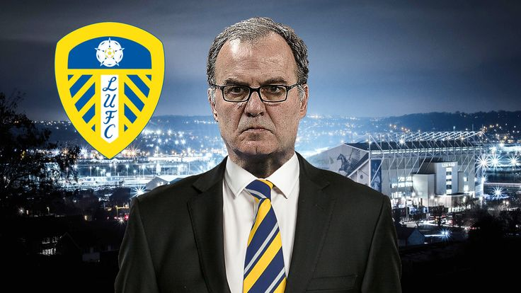 Leeds United head coach Marcelo Bielsa has led the team to the top of the Championship