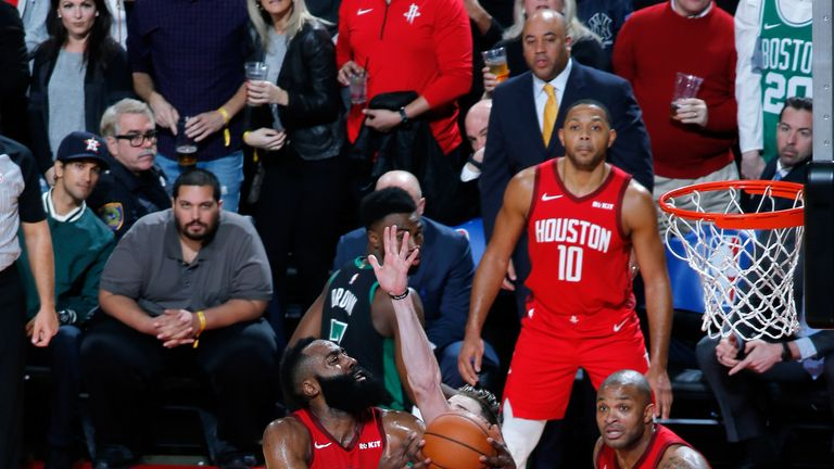 James Harden attacked the edge against Boston