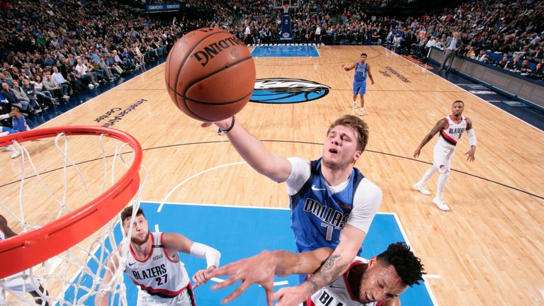 NBA round-up: Luka Doncic scores 21 points as Dallas Mavericks beat Portland Trail Blazers | NBA News |