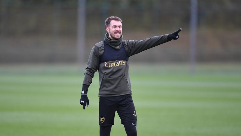 Ramsey has been urged to remain focused by Unai Emery