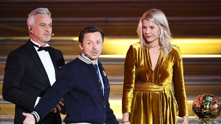 Ada Hegerberg was asked if she could twerk by French DJ Martin Solveig