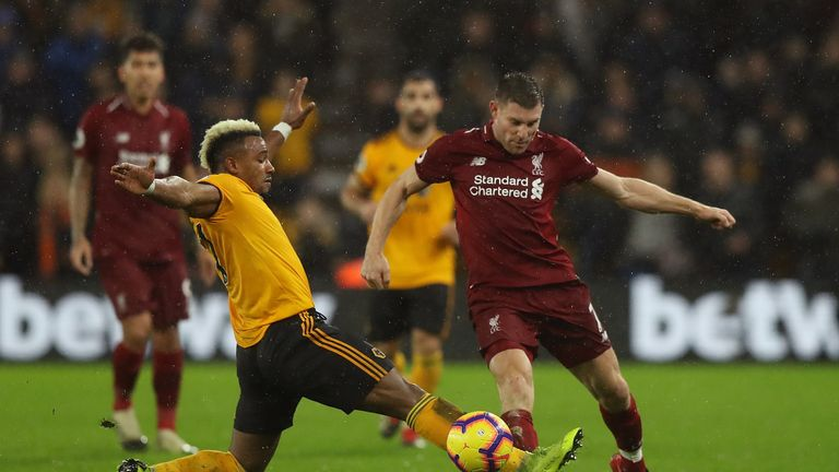 Liverpool beat Wolves 2-0 at Molineux in December in the Premier League