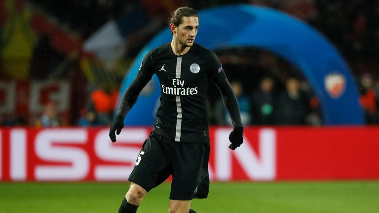 Adrien Rabiot is a reported target for Manchester United