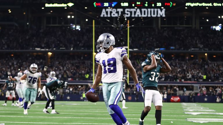 Amari Cooper scored a walk-off touchdown to complete a hat-trick of scores 2438ee63b