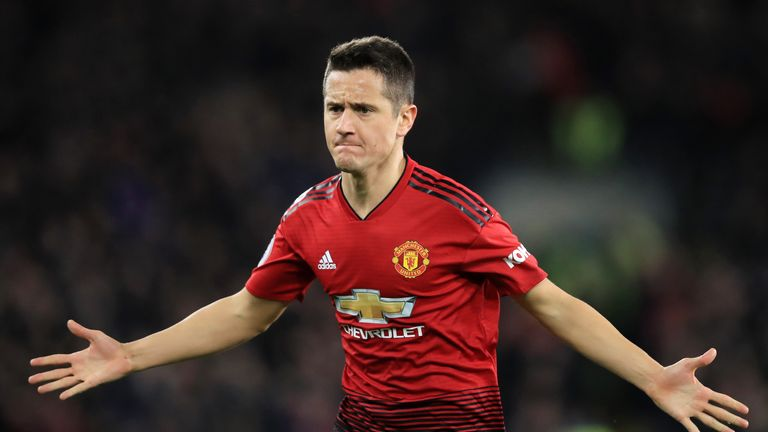 Ander Herrera's contract expires in the summer