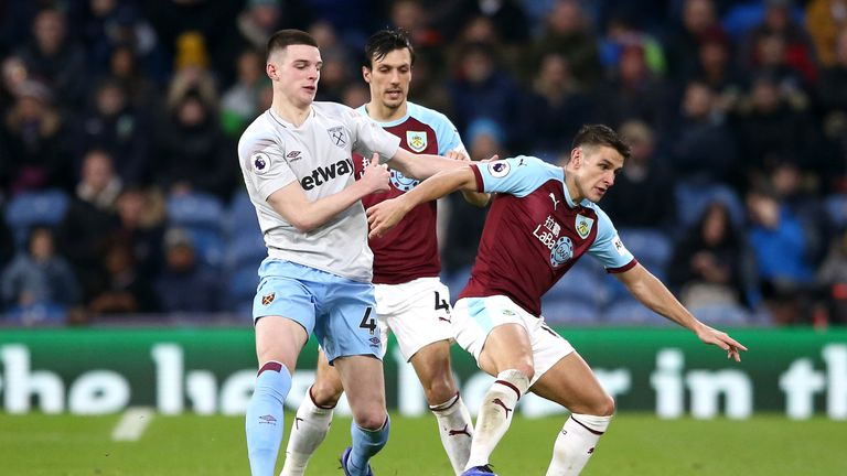 Ashley Westwood is set to return for Burnley