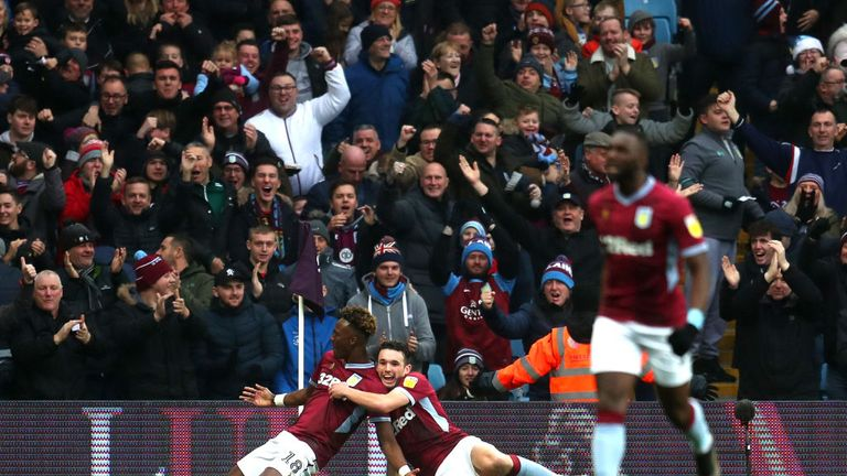 Tammy Abraham fired Villa in front early on