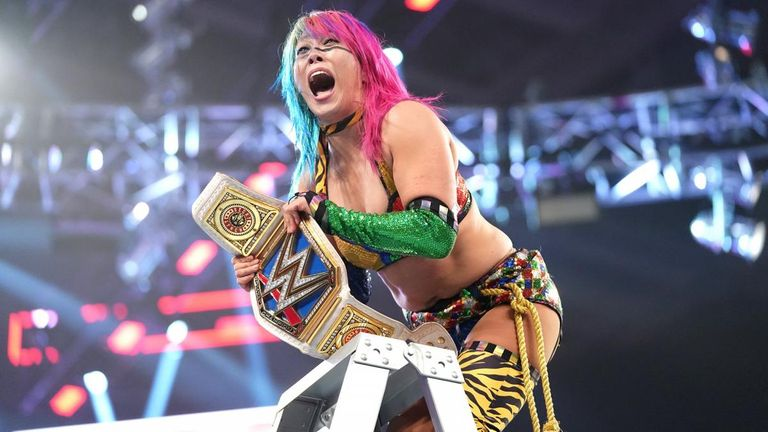 Asuka's potential challengers at WrestleMania