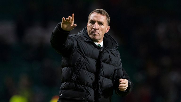 Brendan Rodgers Celtic manager