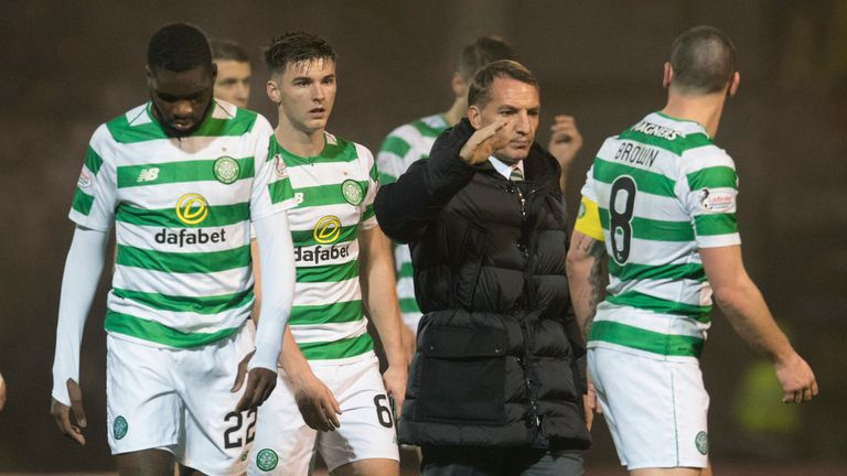 Brendan Rodgers' Celtic are nearly in the knockout stage