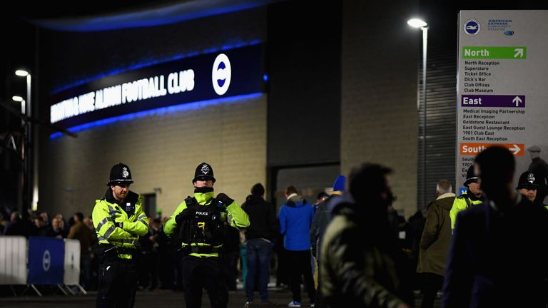 Security to be stepped up at Amex Stadium for Brighton vs Crystal Palace | Football News |