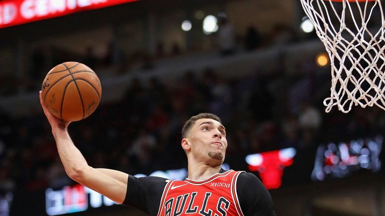 4e8c7755756 Zach LaVine to miss at least two Chicago Bulls games with ankle ...