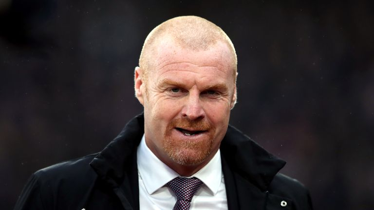 Burnley manager Sean Dyche was forced into making an unexpected defence