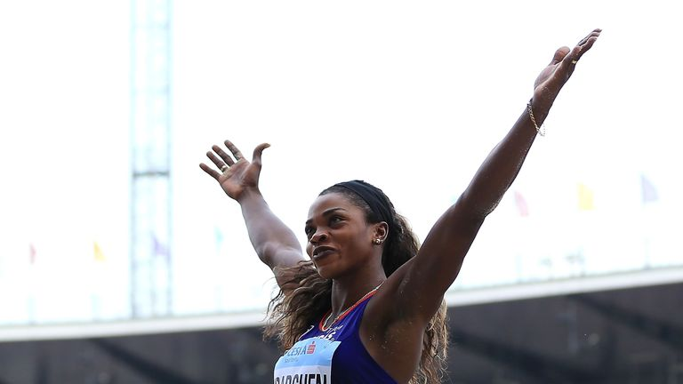 Caterine Ibarguen beat Brit Dina Asher-Smith to the title of IAAF female athlete of the year