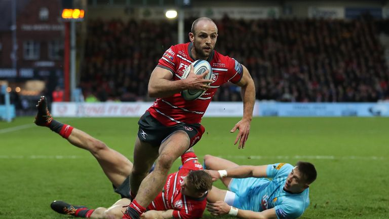 Charlie Sharples was among the tries as Gloucester beat Worcester at Kingsholm