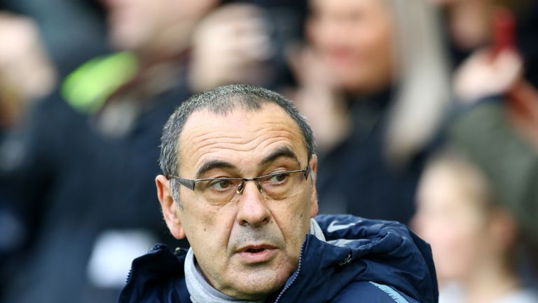 Sarri discusses Hazard and Higuain strike partnership