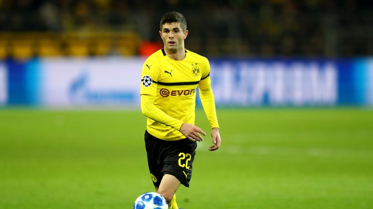 Christian Pulisic for Borussia Dortmund