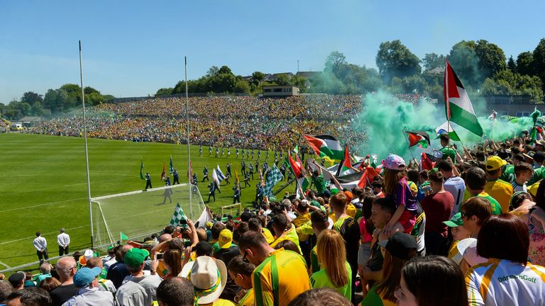 They lost to Donegal in front of a bumper crowd in Clones