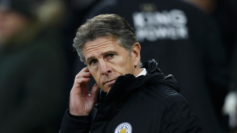 Claude Puel took confidence from Leicester's narrow Carabao Cup defeat to Manchester City