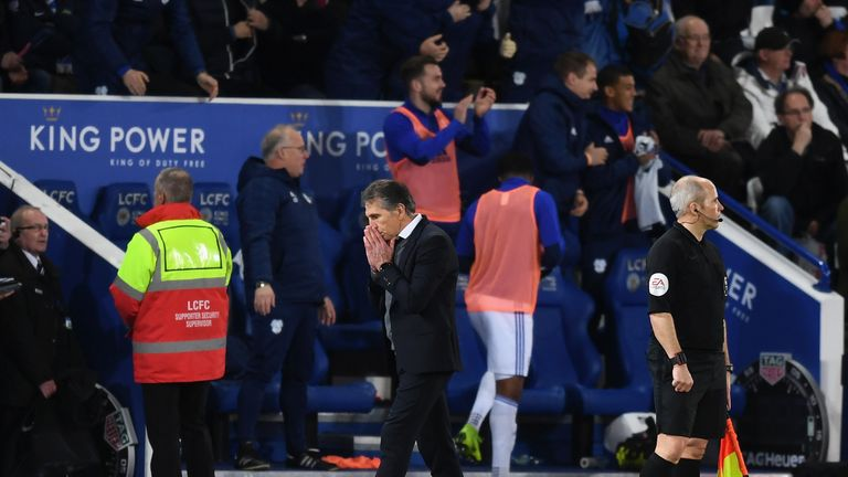 Leicester lost at home to Cardiff after James Maddison saw his penalty saved