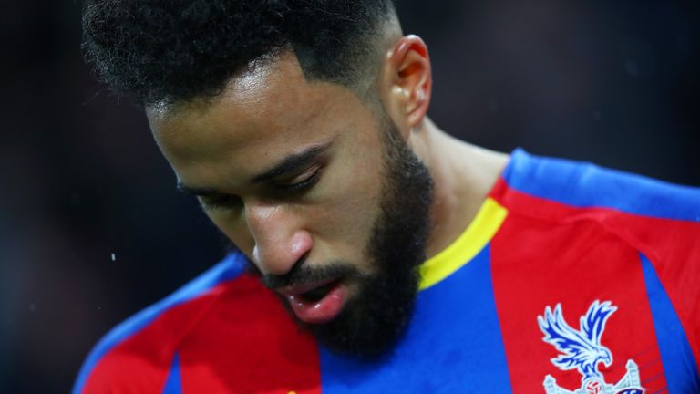 Andros Townsend was allegedly subject to racist chants at Selhurst Park