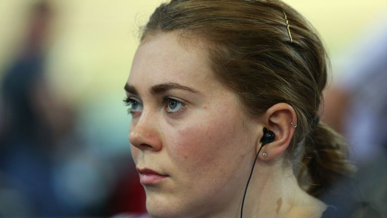 Jess Varnish says she was dropped from the British Cycling elite programme for criticising her coaches