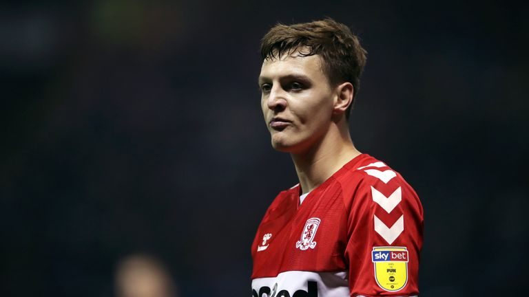 Dael Fry is injured for Middlesbrough