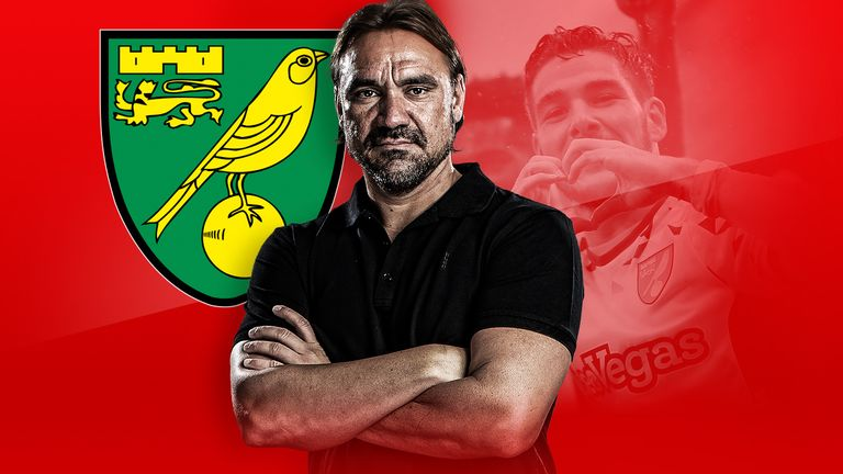 Daniel Farke has led Norwich City to the top of the Championship