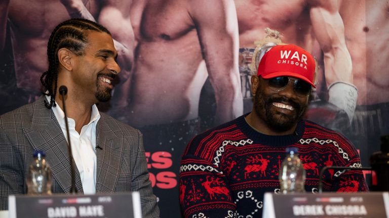 Manager David Haye will help to plan Chisora's next move