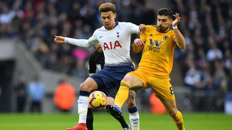 Spurs suffered a surprise 3-1 defeat to Wolves in their final game of 2018
