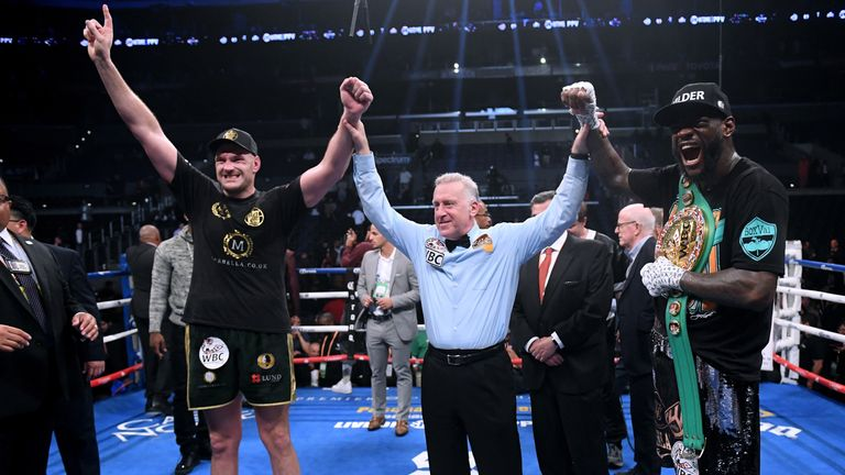 Wilder retained WBC belt after split decision draw with Tyson Fury this month