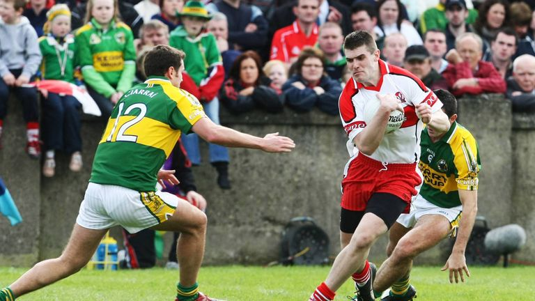 Lynch was instrumental when the Ulster side beat Kerry in the 2008 National League final
